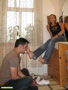 Melady takes advantage of her boyfr